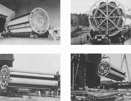 Moving Saturn test booster