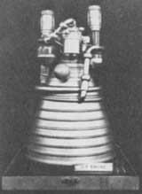 Model of J-2 engine