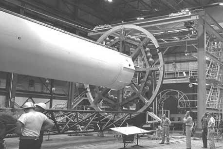 Assembly of main LOX tank
