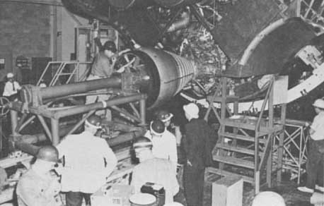 Installation of engines on SA-1