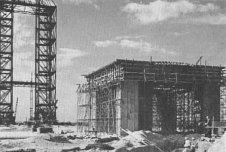 Construction of Launch Complex 34