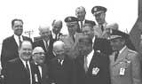Mr. Glennan, President Eisenhower and von Braun