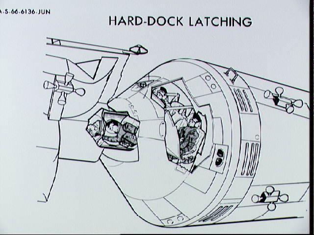 stages of apollo spacecraft docking - photo #2
