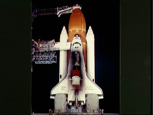 space shuttle challenger teleconference