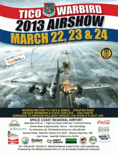 VAC 2013 Tico Air Show Official Poster. Image Credit: VAC / Tico Air Show