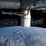 Dragon Berthed To ISS. Credit: NASA