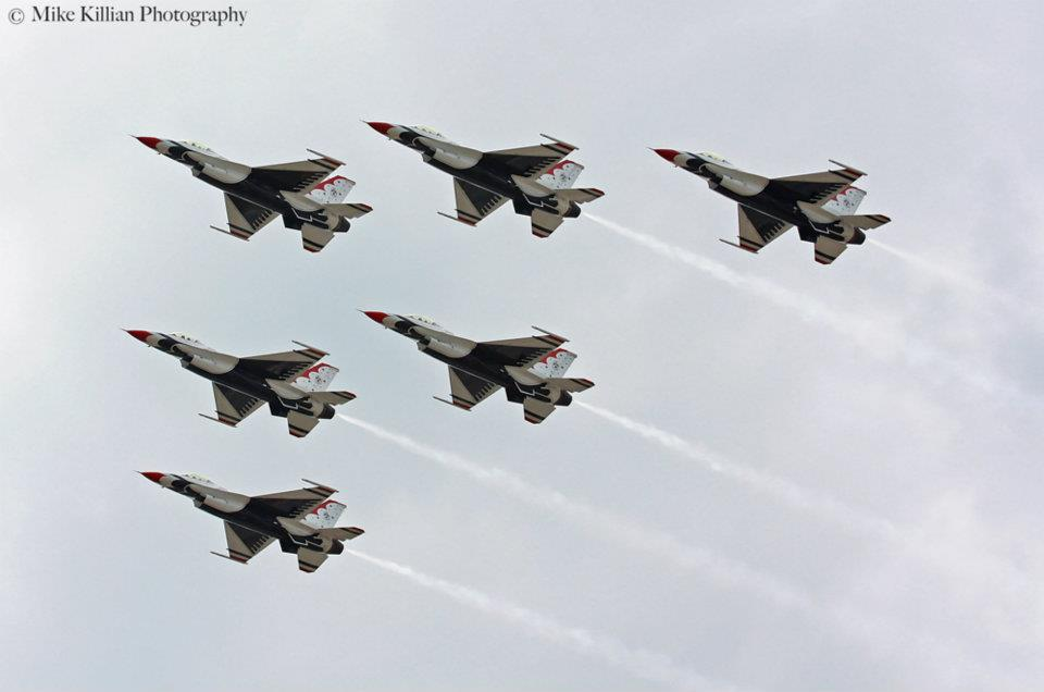 The USAF Thunderbirds will headline next weekend's 36th annual Tico Warbird Airshow in Titusville, Florida. The team's appearance will be the last for the 2013 season, although the team could be grounded much longer than that. Photo Credit: Zero-G News / Mike Killian
