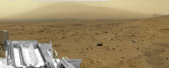Billion Pixel Mars Panorama