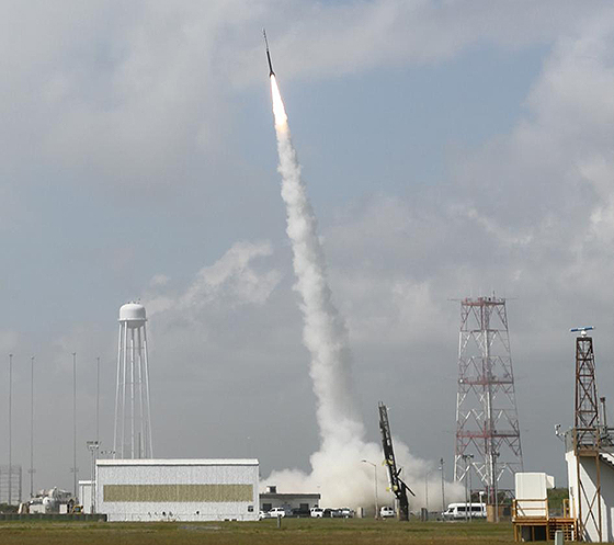 Dynamo 1 Suborbital Launch. Credit: NASA