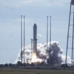 Launch of Antares with Cygnus at the Mid-Atlantis Regional Spaceport at Wallops Island, VA. Photo Credit: Orbital