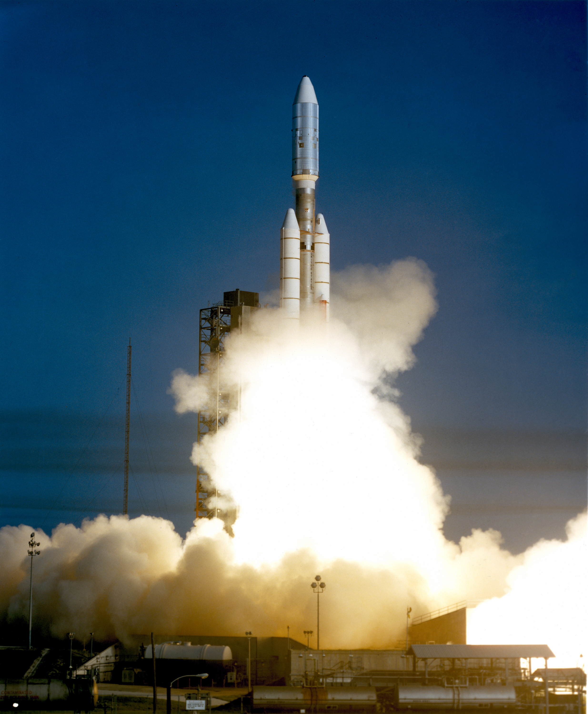 The Voyager 1 aboard the Titan III/Centaur lifted off on September 5, 1977, joining its sister spacecraft, the Voyager 2, on a mission to the outer planets.