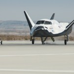 A pickup truck releases the Sierra Nevada Corporation, or SNC, Dream Chaser flight vehicle during a 60 mile per hour tow test to validate the spacecraft's brakes on taxi and runways at NASA's Dryden Flight Research Center at Edwards Air Force Base in California. Ground testing at 10, 20, 40 and 60 miles per hour is helping the company validate the performance of the spacecraft's braking and landing systems prior to captive-carry and free-flight tests scheduled for later this year. SNC is continuing the development of its Dream Chaser spacecraft under the agency's Commercial Crew Development Round 2, or CCDev2, and Commercial Crew Integrated Capability, or CCiCap, phases, which are intended to lead to the availability of commercial human spaceflight services for government and commercial customers. To learn more about CCP and its industry partners, visit www.nasa.gov/commercialcrew. Image credit: NASA/Ken Ulbrich