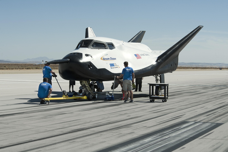 Dreamchaser atomospheric test vehicle. Photo Credit: Sierra Nevada
