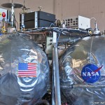 Morpheus during testing. Photo Credit: NASATech for Zero-G News