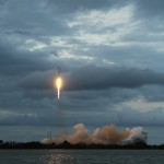 Falcon 9 blasts off with THAICOM 6 from SLC-40 at Cape Canaveral. Photo Credit: Matthew Travis / Zero-G News