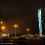 An empty launch pad stands witness to the successful launch of a Delta II rocket with NASA's OCO-2 spacecraft. Photo Credit: Robert C. Fisher / AmericaSpace (http://www.americaspace.com)