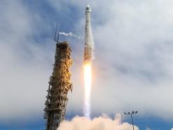 Atlas Rocket Orbits WorldView-3 Commercial Imaging Satellite