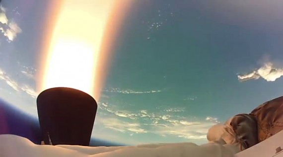 "NASA Releases High-Definition Onboard Video From LDSD ""Flying Saucer"" Test"