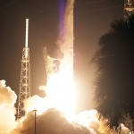 Falcon 9 liftoff, Dragon CRS-4 mission to ISS. Photo Credit: NASA