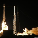 Falcon 9 launches with AsiaSat 6. Photo Credit: Matthew Travis / Zero-G News