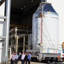 NASA Rolls Out First Orion Spacecraft For December EFT-1 Test Flight