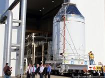 NASA Rolls Out First Orion Spacecraft For December EFT-1 Test Flight