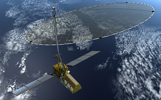 The NASA-ISRO Synthetic Aperture Radar (NISAR) mission, targeted to launch in 2020, will make global measurements of the causes and consequences of a variety of land surface changes on Earth. Image Credit: NASA
