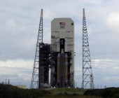 Looking To The Future, Delta IV Rocket For Orion First Flight Reaches The Launch Pad