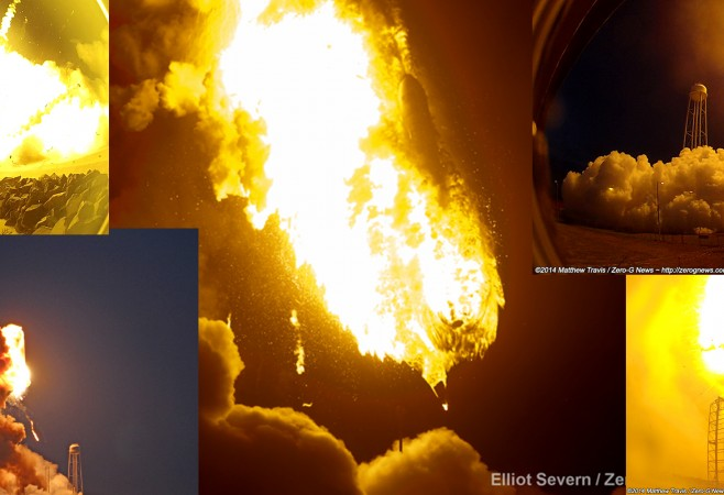 Inferno Over Wallops! A first-hand Photo And Video Account Of Antares Launch Failure