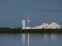Atlas V Racks Up 50th Success With Launch of GPS IIF-8 For U.S. Air Force
