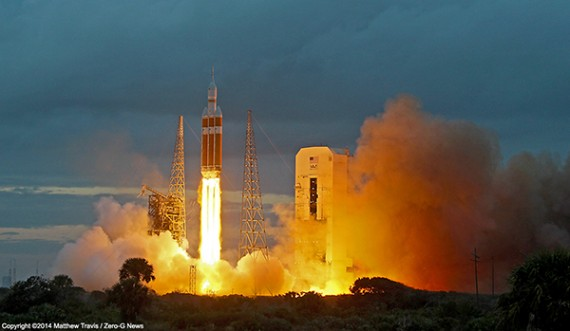 "NASA's Orion Spacecraft Completes ""Picture Perfect"" First Test Flight"