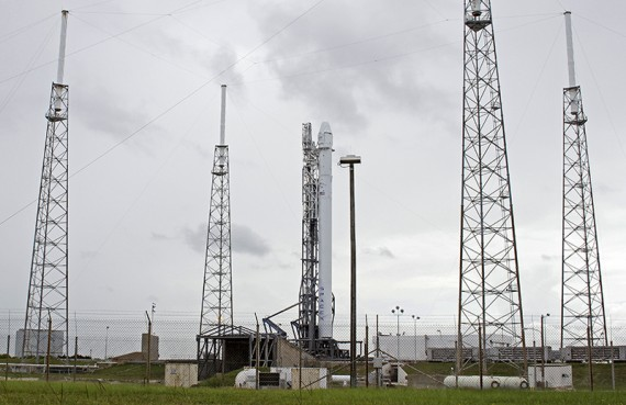 Amid Testing Trouble, Firm Launch Date Expected Today For Falcon 9 CRS-5