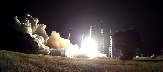 Falcon 9 Launches Fifth Contracted SpaceX ISS Mission; Booster Recovery Test Fails