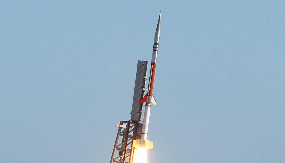 File photo of a Terrier-Improved Malemute sounding rocket. Image Credit: NASA