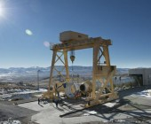 First Full-Scale SLS Booster Installed On Stand For March Static Test