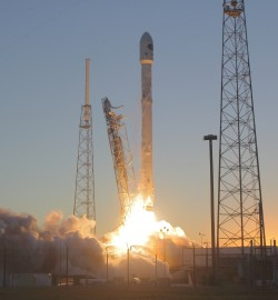 Deep Space Falcon Launch Successfully Deploys NASA's DSCOVR Climate Observatory