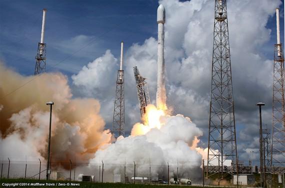 Technical Issues Prompt Falcon 9 Launch Delay For TurkmenAlem52E/MonacoSAT