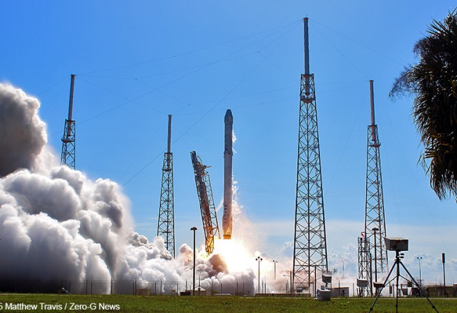 Falcon 9 Blasts Off With Cargo Supporting NASA's One-Year Mission