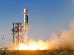 Blue Origin Conducts First Test Flight Of New Shepard Suborbital Rocket