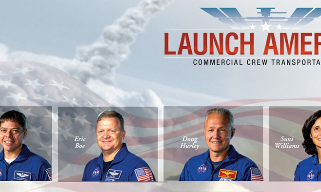 NASA Names First Four Commercial Crew Program Astronauts